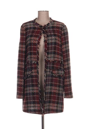 kocca manteaux femme de couleur rouge
