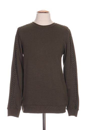 Sweat-shirt vert BLACK KAVIAR pour homme