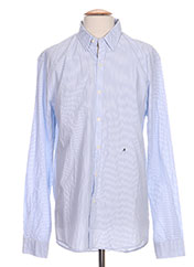 Chemise manches longues bleu REPLAY pour homme seconde vue