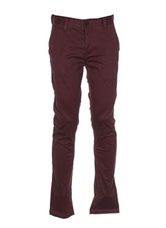 Pantalon casual rouge MINIMUM pour homme