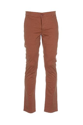 Pantalon casual marron BEING HUMAN pour homme