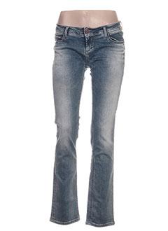 Jeans coupe slim bleu DN.SIXTY SEVEN pour femme