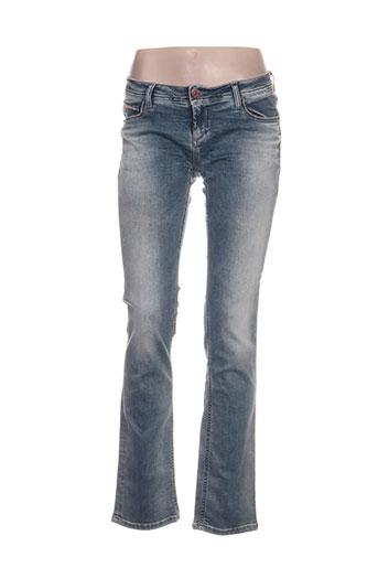 dn.sixty seven jeans femme de couleur bleu