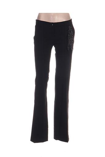 kocca pantalons femme de couleur noir