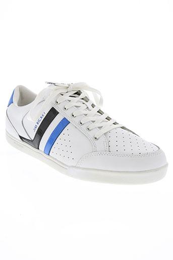 jim rickey chaussures homme de couleur blanc