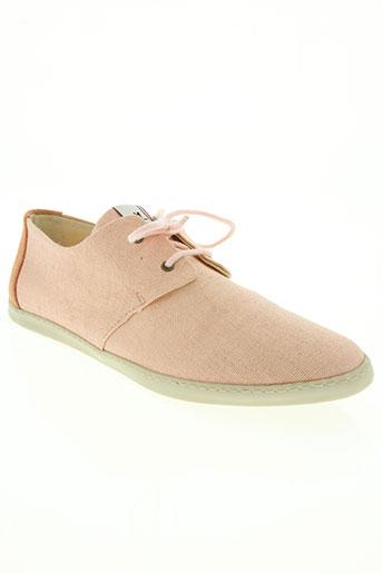 mascaret chaussures femme de couleur rose