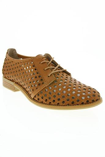 musse&cloud chaussures femme de couleur marron