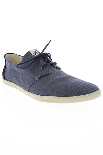 mascaret chaussures femme de couleur bleu