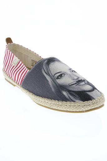 eleven paris chaussures femme de couleur gris