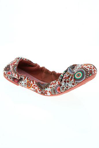 desigual chaussures femme de couleur rose