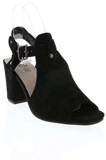 j&j shoes chaussures femme de couleur noir
