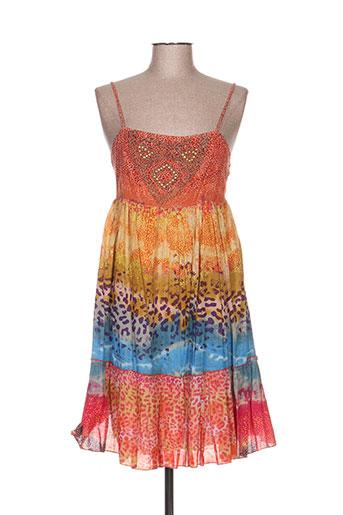 leyenda EFFI_CHAR_1 co robes femme de couleur orange
