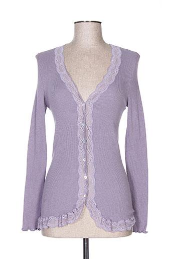 calida vestes femme de couleur violet