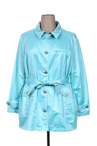 rever mile manteaux femme de couleur bleu