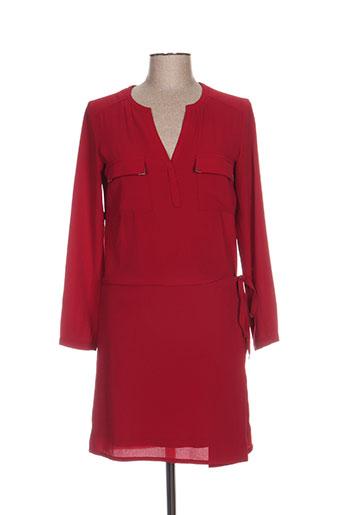 orfeo negro robes femme de couleur rouge