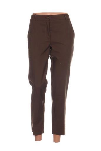 Pantalon casual vert HIPPOCAMPE pour femme