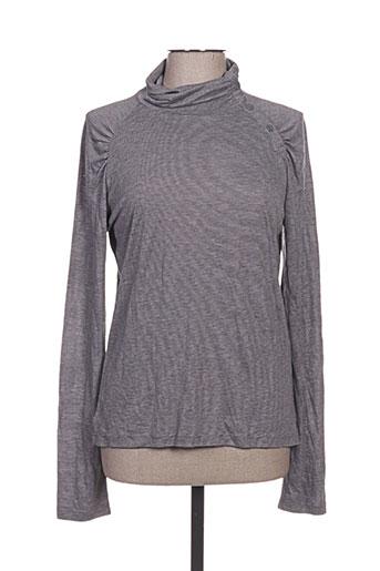 hugo boss t-shirts femme de couleur gris