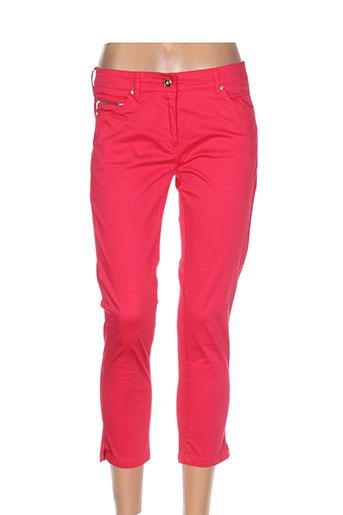 voodoo pantacourts femme de couleur rose
