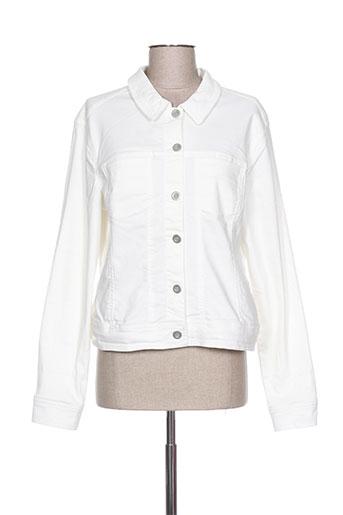 fransa vestes femme de couleur blanc