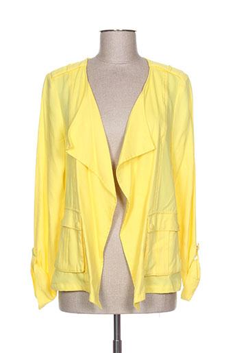 laura jo vestes femme de couleur jaune