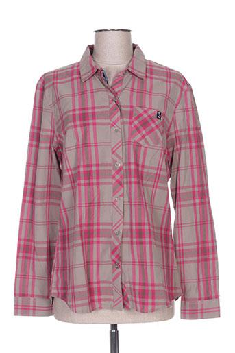 thalassa chemises femme de couleur violet
