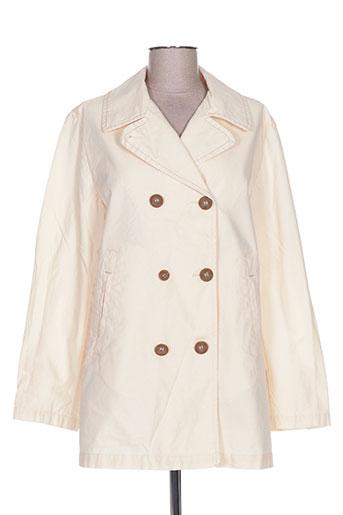 chipie manteaux femme de couleur beige