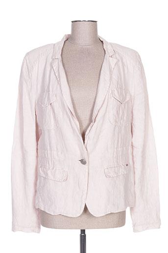 Veste casual rose IKKS pour femme