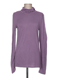 Sous-pull violet I.CODE (By IKKS) pour femme