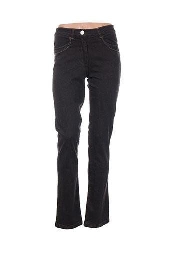 thalassa jeans femme de couleur marron