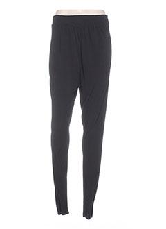 Pantalon casual noir SO & CO pour femme