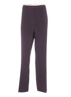 Pantalon casual violet KIPLAY pour femme