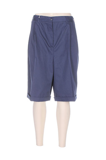 nolwenn shorts / bermudas femme de couleur bleu