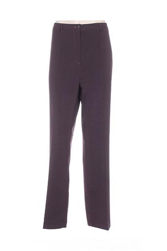kiplay pantalons femme de couleur violet