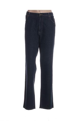 jean gabriel jeans femme de couleur bleu