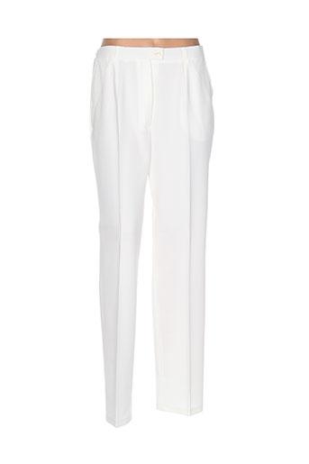 quattro pantalons femme de couleur blanc