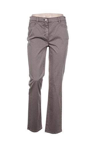 lebek jeans femme de couleur marron