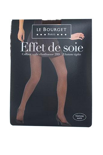 le bourget lingerie femme de couleur marron
