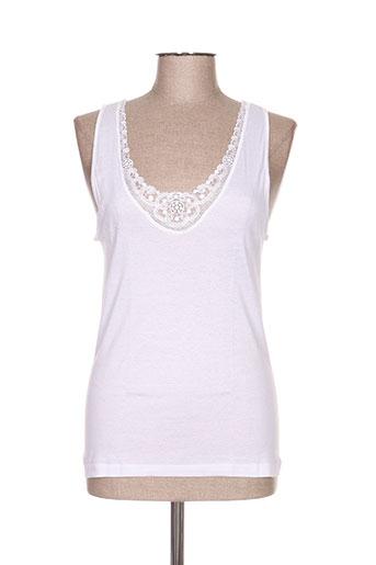 ghiro lingerie femme de couleur blanc