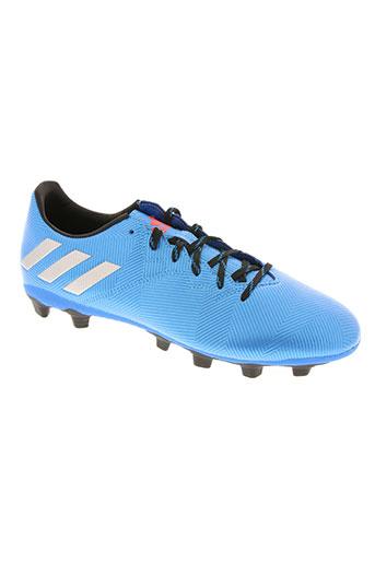 adidas chaussures homme de couleur bleu