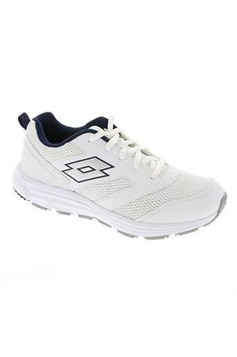 lotto chaussures femme de couleur blanc