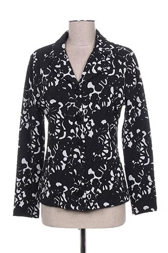 Veste casual noir ANTONELLE pour femme