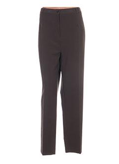 Pantalon chic vert ELSSA pour femme