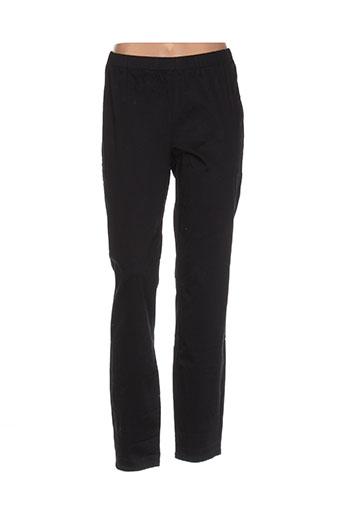 masai pantalons femme de couleur noir