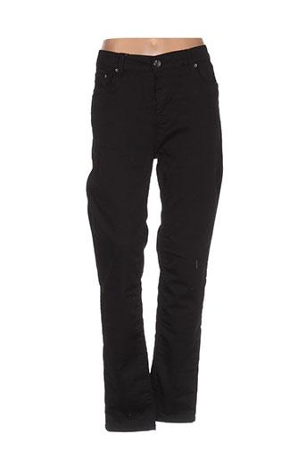 mat. pantalons femme de couleur noir