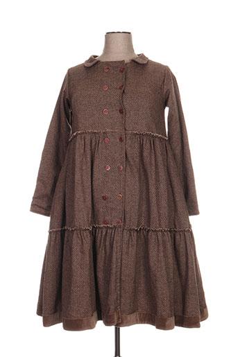 ewa i walla manteaux femme de couleur marron