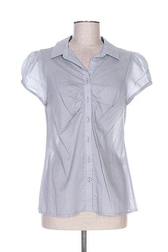 femmes je vous aime chemises femme de couleur gris