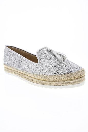 kharisma chaussures femme de couleur gris