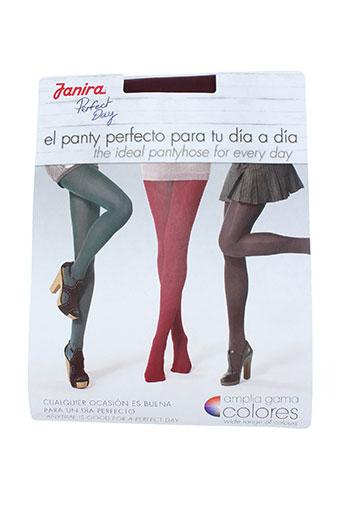 janira lingerie femme de couleur rouge