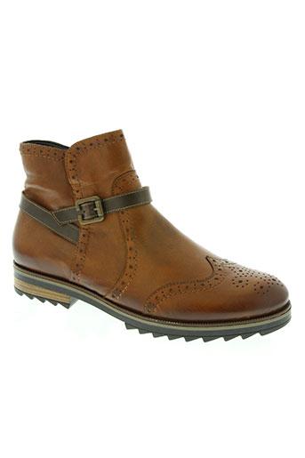 remonte chaussures homme de couleur marron