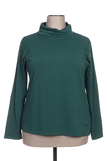 biluzik t-shirts femme de couleur vert